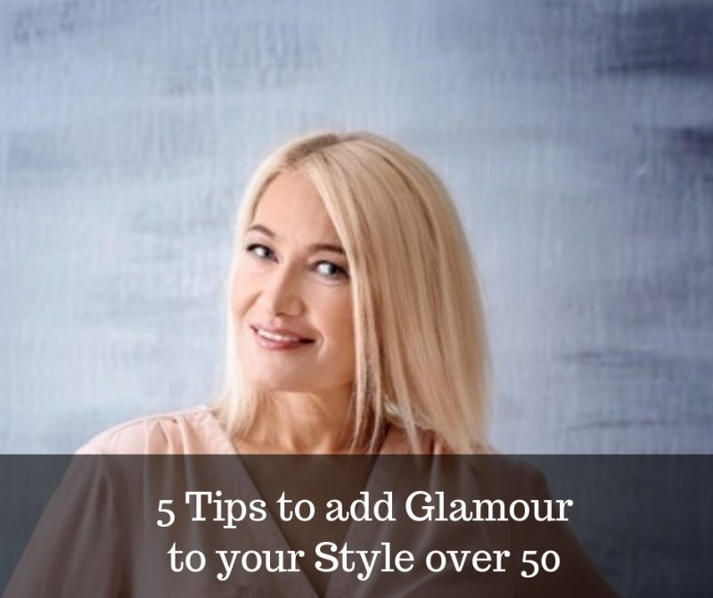 tips to be glamourous over 50 image