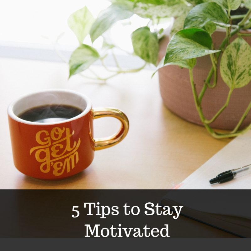 how to stay motivated image
