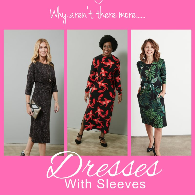 style over 50 dresses with sleeves