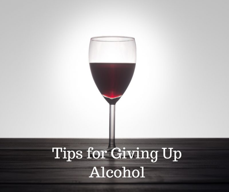 how to give up alcohol image