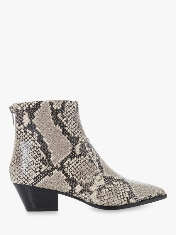 style over 50 reptile skin boot