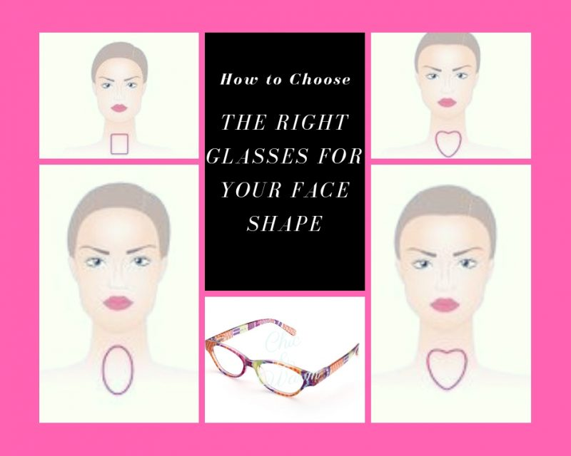 tips for choosing glasses to suit your face shape image