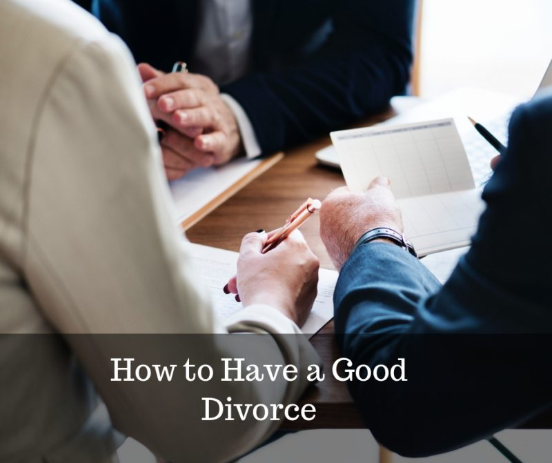 top tips for a good divorce over 50 image