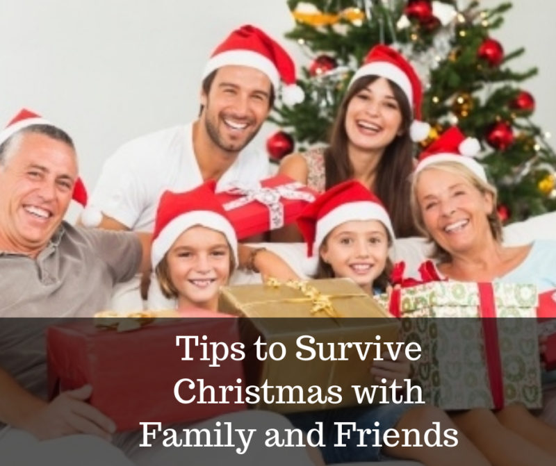 survive Christmas with family and friends