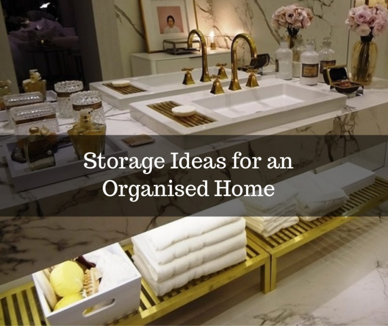 storage hacks for a organised home