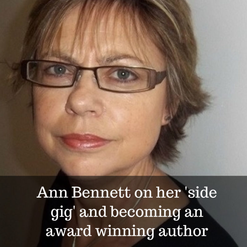 Ann bennt becomes award winning author midlife