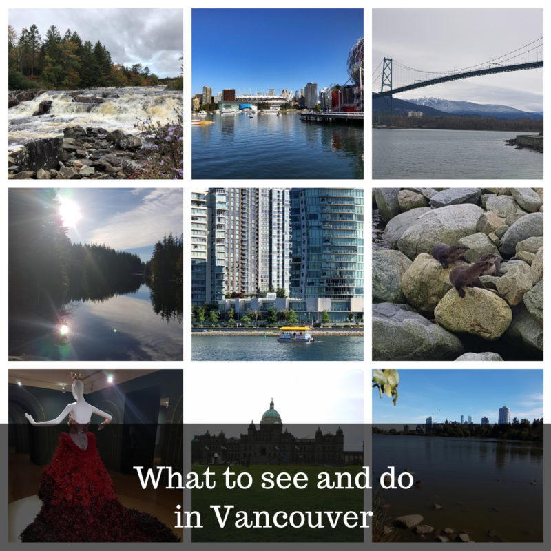 what to see and do in Vancouver image