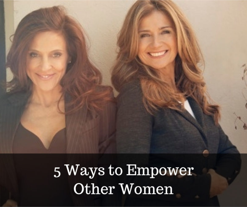 ways to empower other women