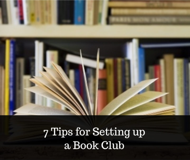 how to set up a book club image