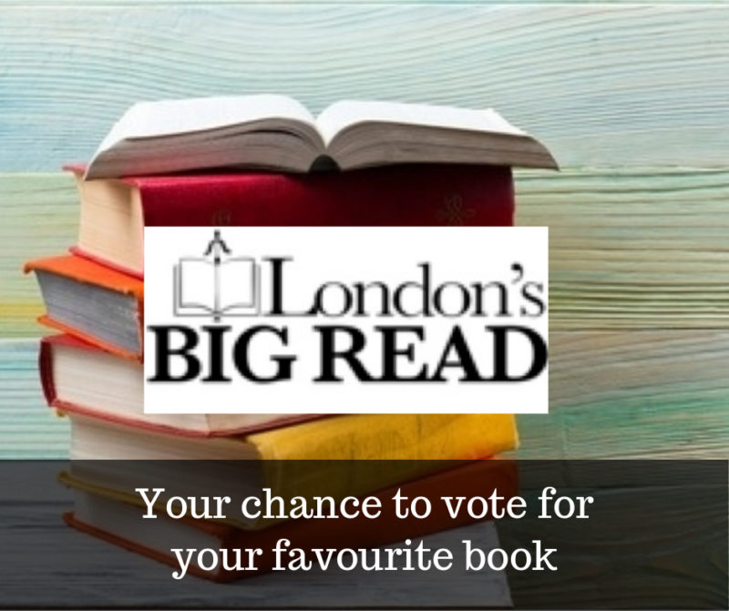 vote for your favourite book Londons Big Read 2019