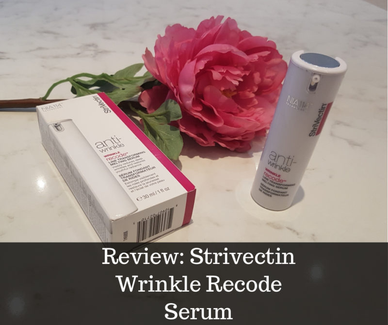 Strivection Wrinkle Recode serum review image