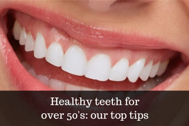 tips for healthier teeth and gums over 50 image
