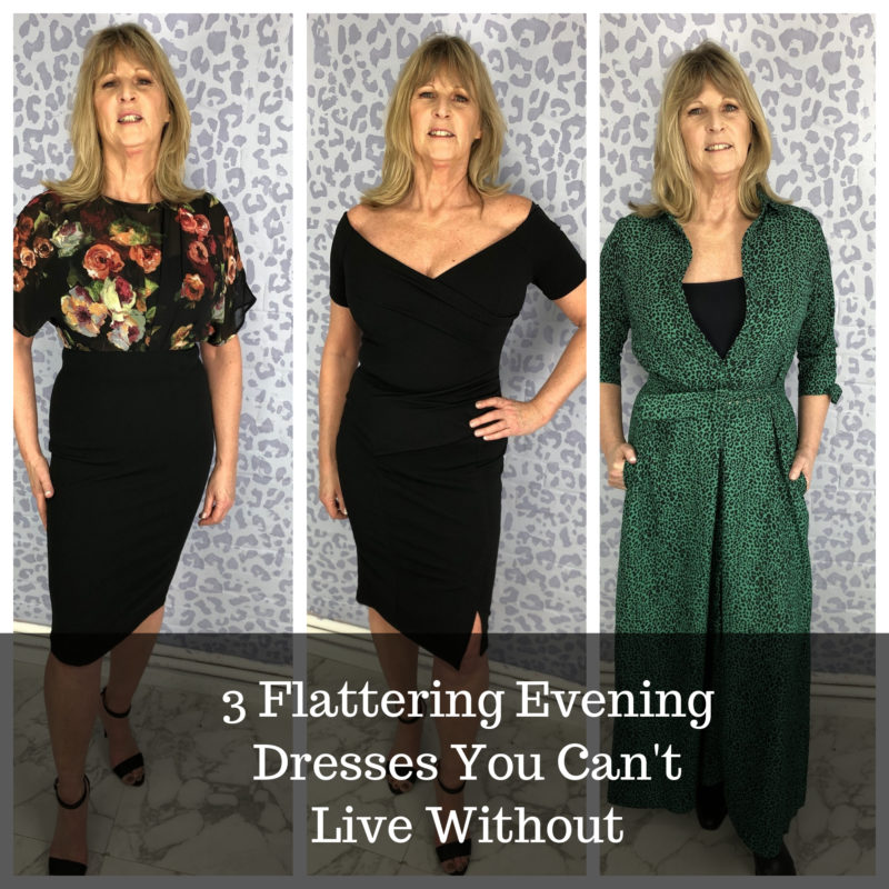 Ab Fab 50: Style Over 50: 3 Flattering Evening Dresses You Can't Live