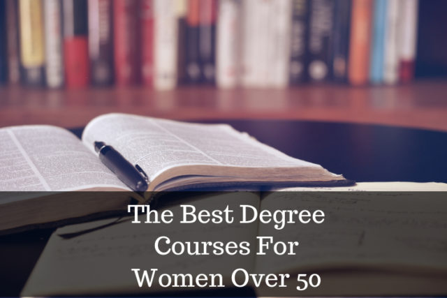 degree courses for the over 50s image