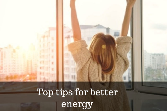 health over 50 tips for more energy