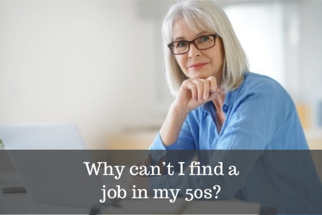 why is it difficult to find a job over 50 image