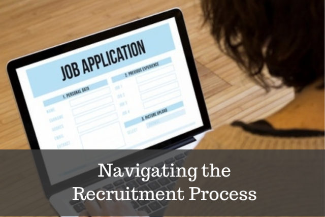 how to navigate changing recruitment process image