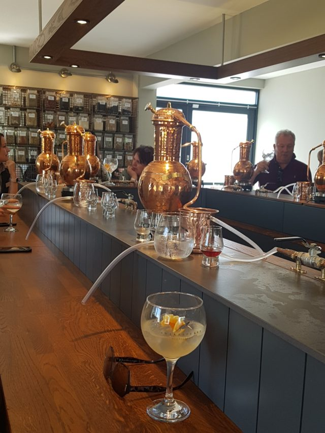 gin tasting studely castle review