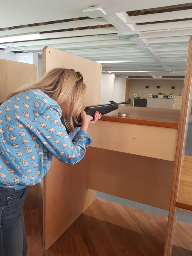 rifle shooting studley castle review image