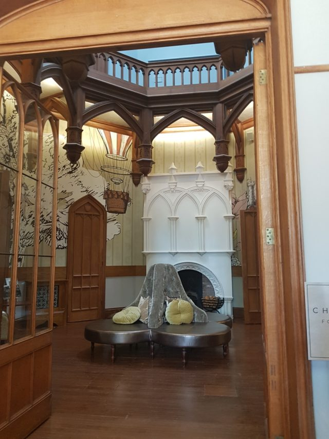 studley castle lobby review image