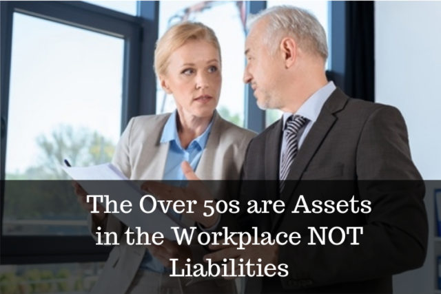 over 50s are assets in workplace image
