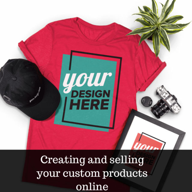 create and sell your own products image