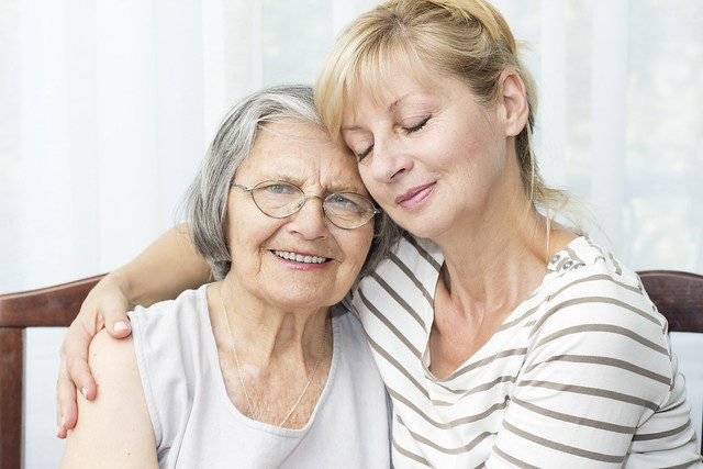 caring for elderly parents image