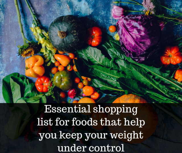 5 ingredients to help you keep weight under control image