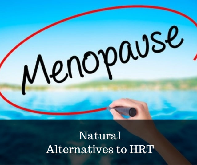 natural alternatives to HRT image