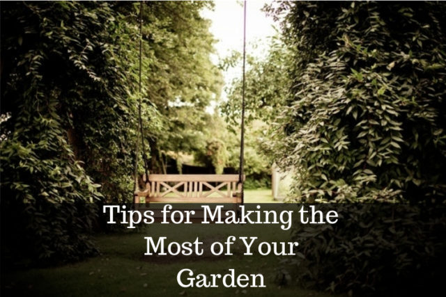 making the most of your garden image