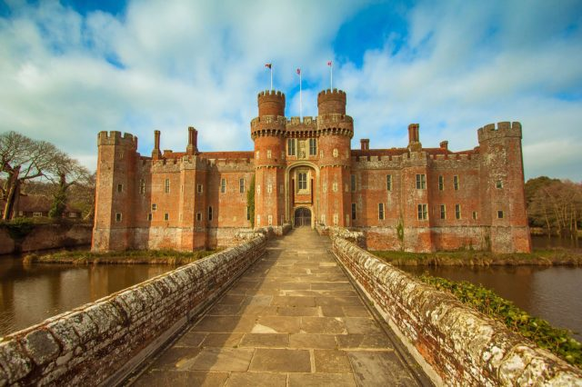 visit herstmonseux castle in sussex image