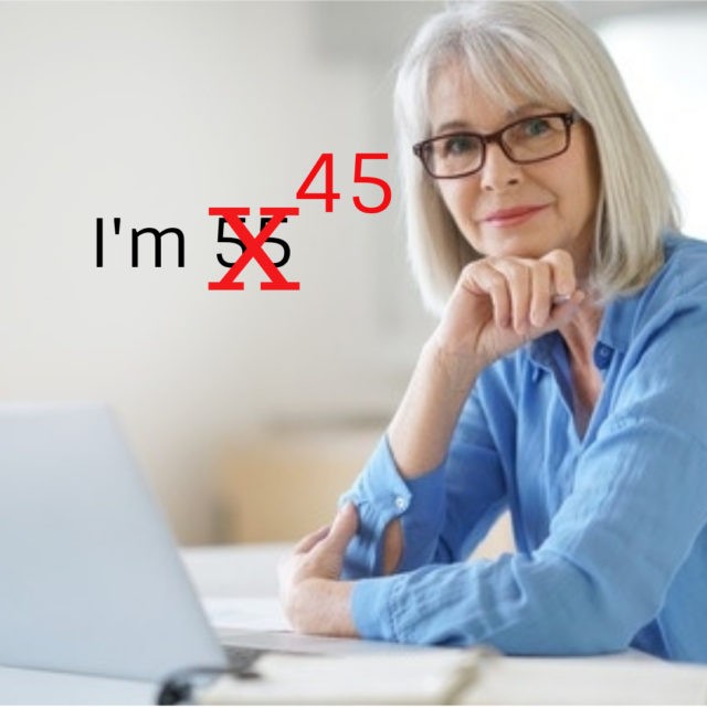 would you lie about your age when looking for a job image
