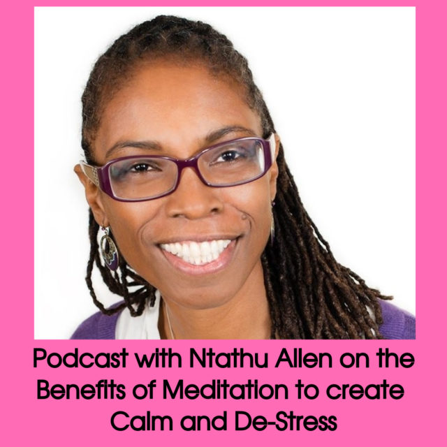 podcast with Ntathu Allen on the benefits of yoga image