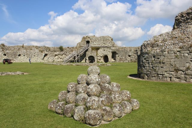 visit Pevensey castle in Sussex image
