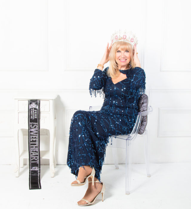 carolyne wins pageant at 70 image