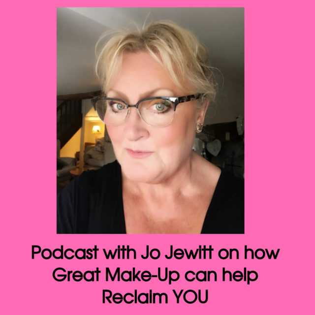 podcast with jo jewitt on make-up over 50