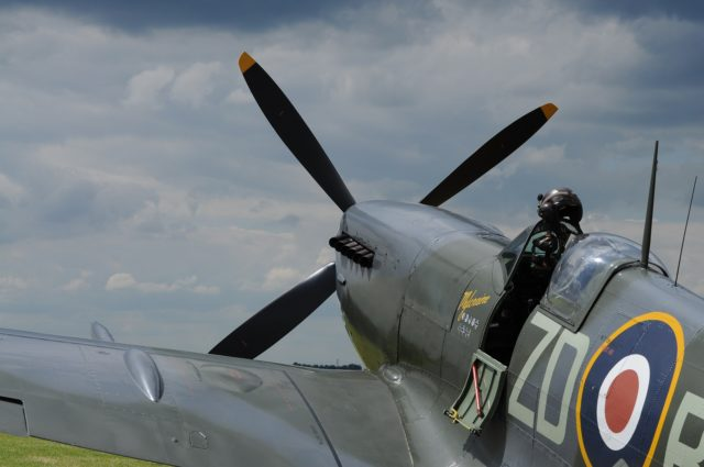 fly in a spitfire in Sussex image