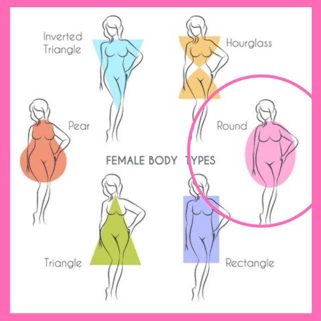 dressing for body shape apple image