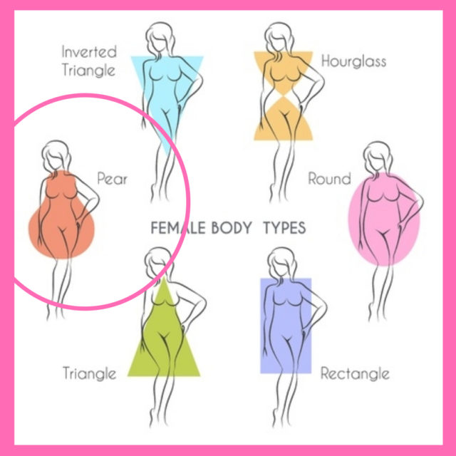 dressing for bodyshape pear shape image