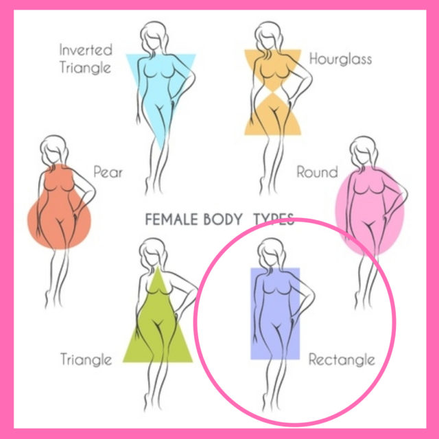 Dressing for body shape rectangle image