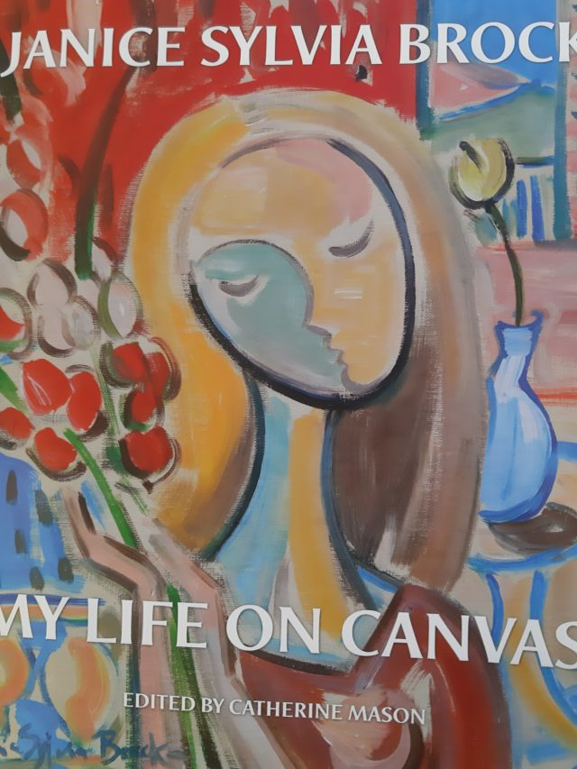 my life on canvas by Janice Sylvia Brock image