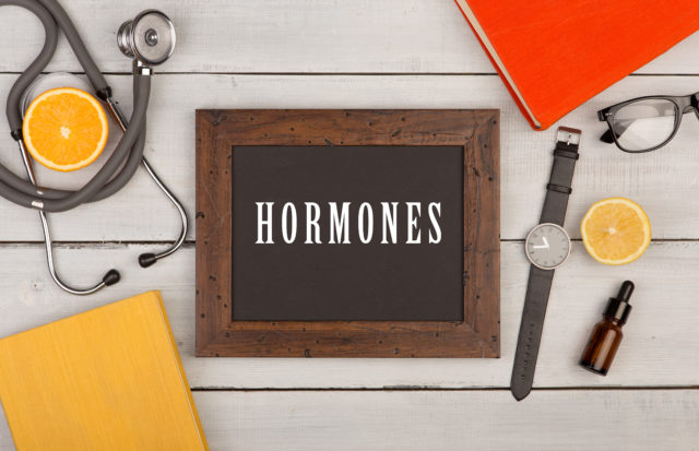 hormones and menopause image
