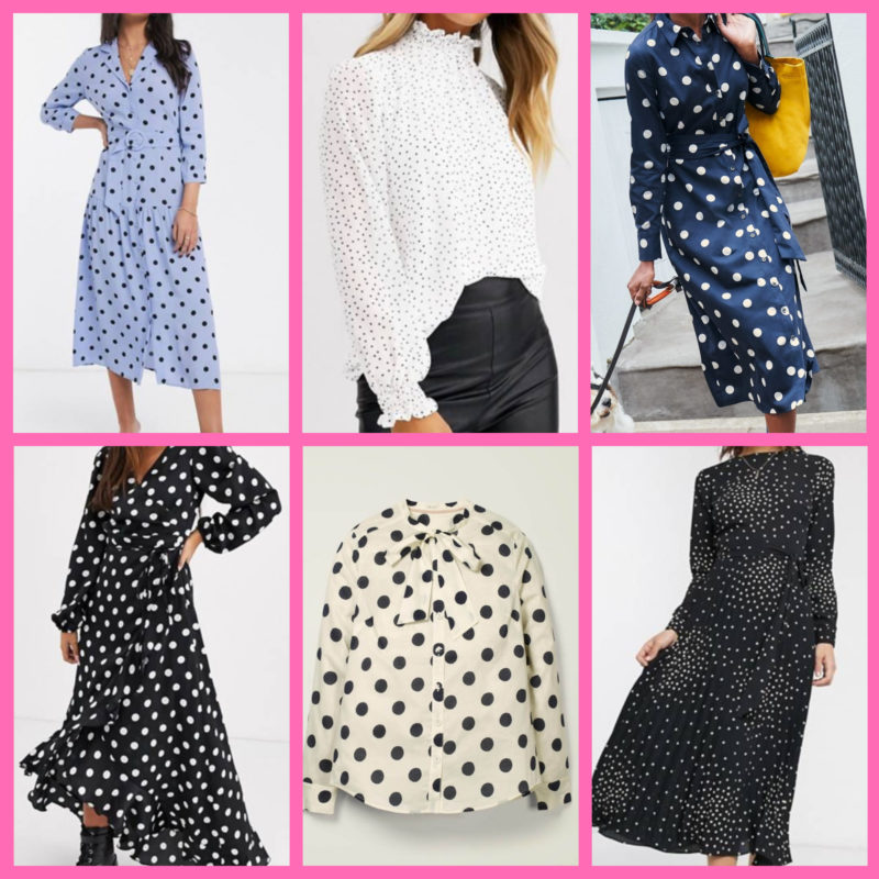 style over 50 how to wear polka dots image