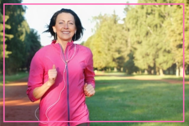 staying active after menopause image