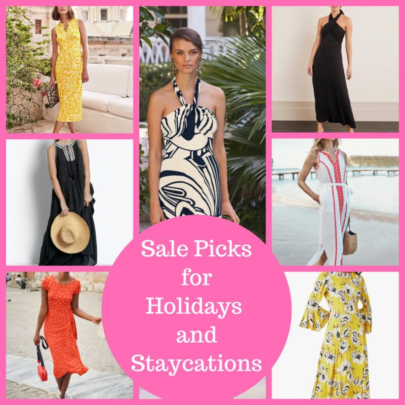 summer holiday dressing in the sale