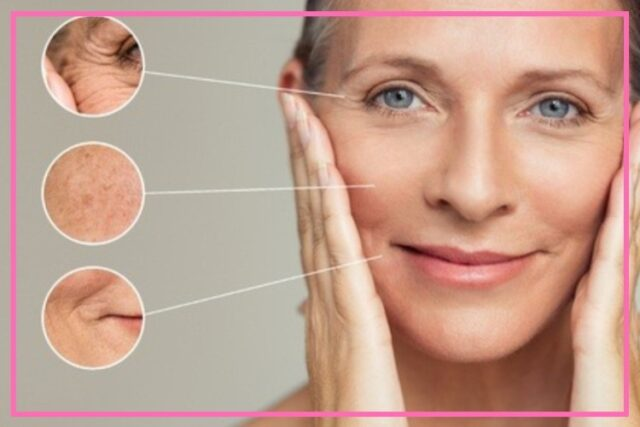 the effect of the menopause on skin image