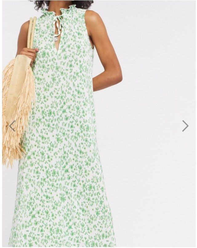 pale green summer dress to wear with bra