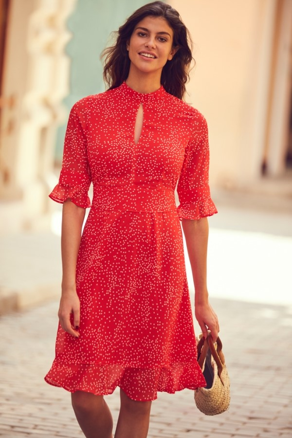 summer dress to wear with bra image