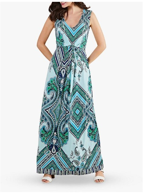 maxi dresss for women over 50 image