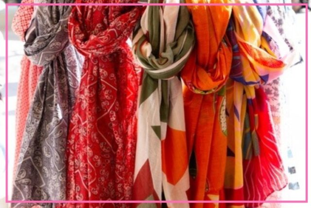 key accessories over 50 scarves image